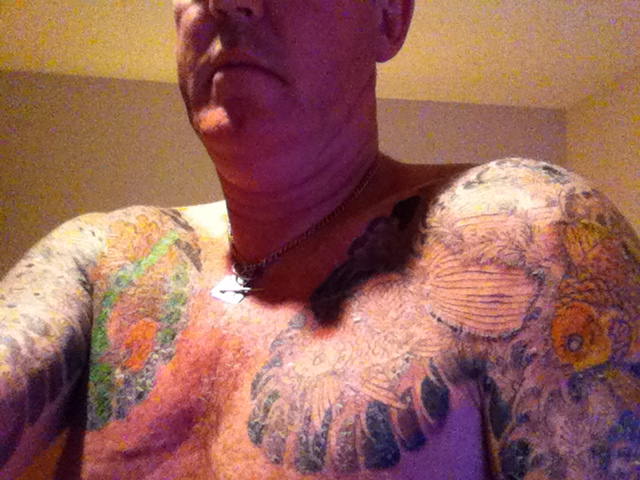 Japanese tattoo on my back donaldelley for When does a tattoo start peeling