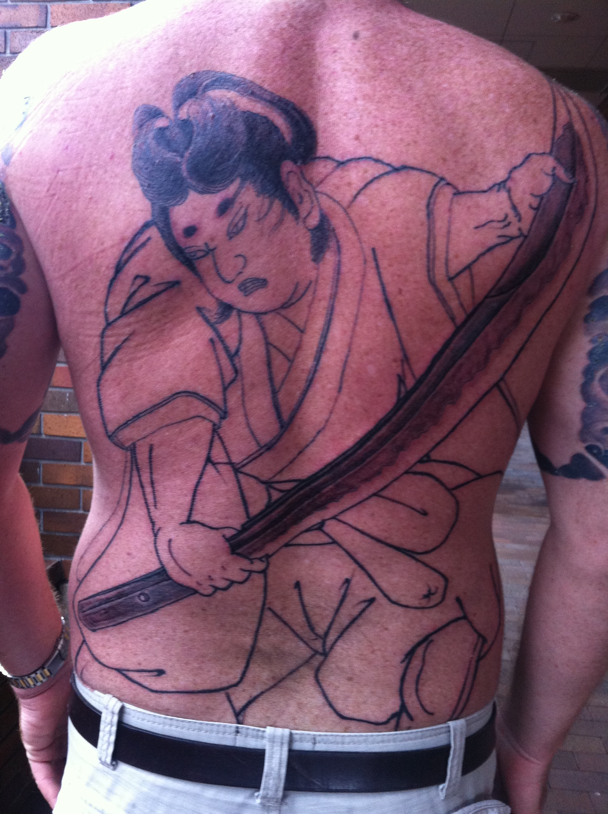 Jo's Tattoo - Azureus Frog