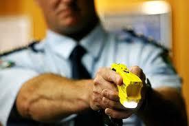 NSW police using taser