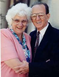 Pastor Frank Houston with Hazel, his faithful and supportive wife