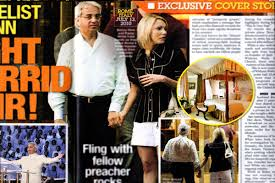 Benny Hinn. Caught with his pants down in Rome. I wonder what his wife thought of this headline?