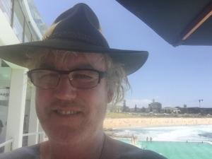 The writer Donald Elley of Bellingen