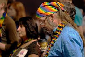 American Presbyterian hippie gay minister