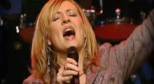 Darlene Zscech, famous Hillsong singer and worship leader. Now has her own church on the Central Coast north of Sydney: