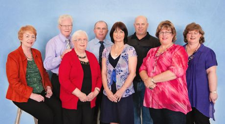 Leaders at Springwood House of Praise Church in Springwood, Queensland, which Jim Williams founded.