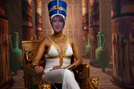 Queen Bobbie, the co-pastor of Hillsong Church. Lives the life of an Egyptian Queen while the victims of Frank Houston's abuse battle through life penniless.