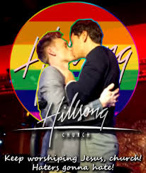 Hillsong worship leader Josh Canfield and his partner Reed