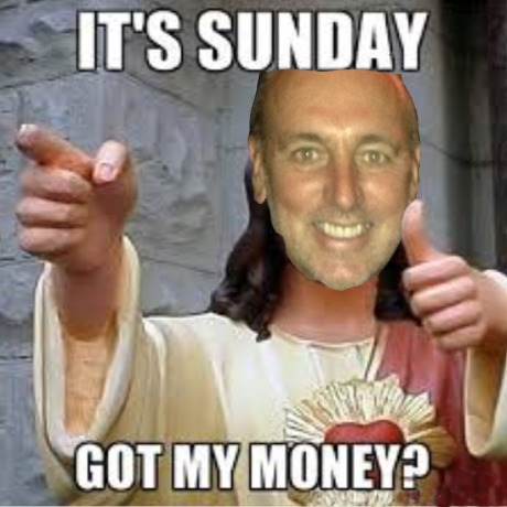 Brian Houston. Shut down Pentecost. Only interested in money (transferring your money to him and his family and friends) and financial prosperity.