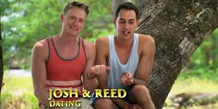 Dating- no consummation yet- whatever that means. To all parties conversing with Josh and Reed on this subject and other personal gay subjects- when you reach agreement on the intimate details, please don't share the with us.