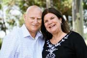 Pastor Ian Woods with his wife Joan