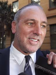 The highly corrupt son Brian Houston