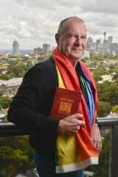 Tony Venn-Brown. Senior member of the gay Christian movement.