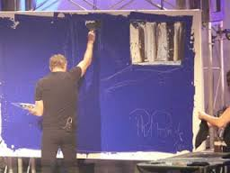 Phil the abstract painter
