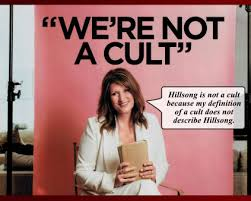 "Bobbie Houston: ""We're not a cult""."