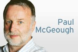 Paul McGeough. Left-wing Clinton type attack dog. getting shut out of Washington for being a biased emotional blinded bigot. Doesn't know what impartial rational journalism looks like. Doomed to fail. Should be sacked.