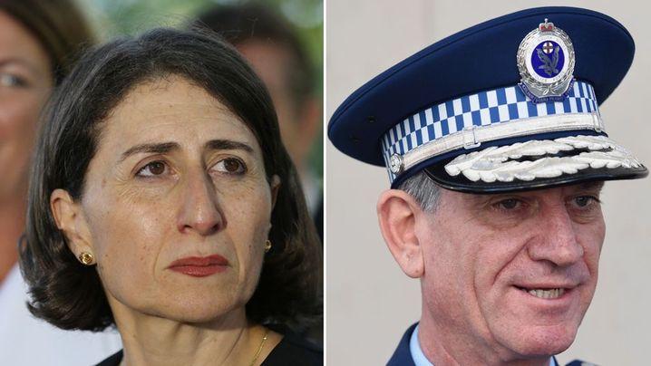 NSW Premier denies Police Commissioner Andrew Scipione's