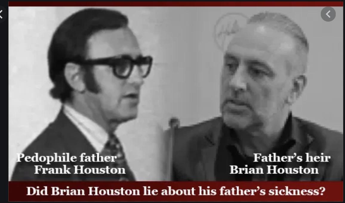 Frank Houston and Brian Houston